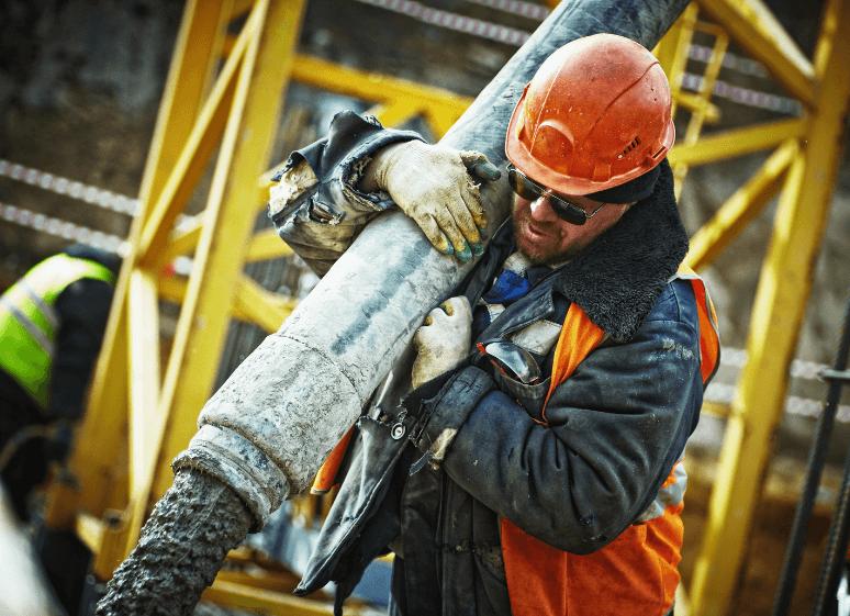 man working construction