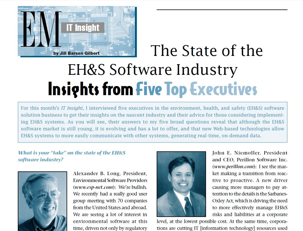 state-of-the-EHS-software-industry
